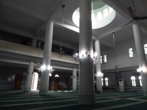 Bagian dalam masjid
