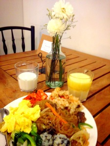 Porsi sarapan gue pagi ini :)))
