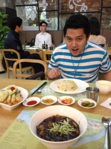 Yang paling bawah itu Jjajangmyun gueee...gede kaaan :D